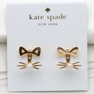 Restocking ~ KATE SPADE ♠️ Out West Cat Earring